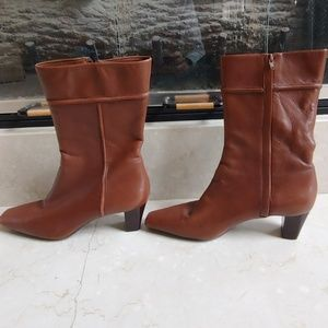 Cole Haan Leather Boots Sz 8